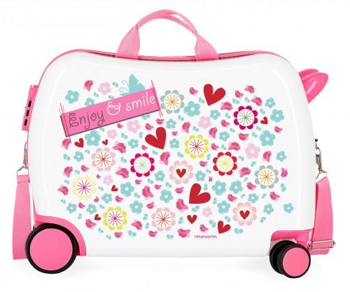 3729864 maleta infantil 4 ruedas movom enjoy & smile
