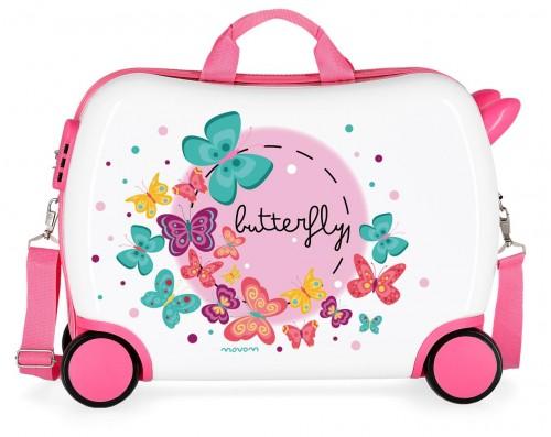 3729961 maleta infantil correpasillos movom butterfly