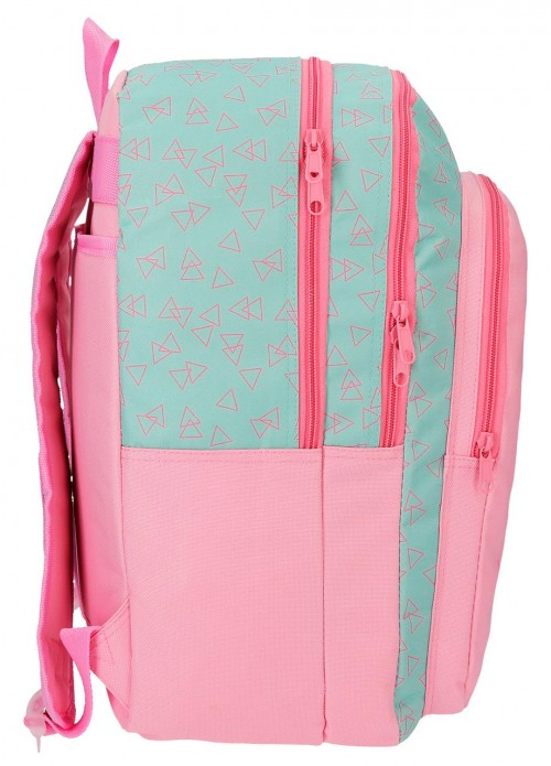 4452461 mochila 42 cm doble comp. roll road little things lateral