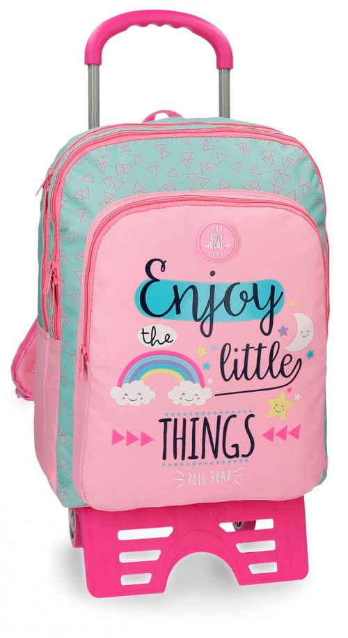 44524N1 mochila 42 cm carro doble comp., roll road little things