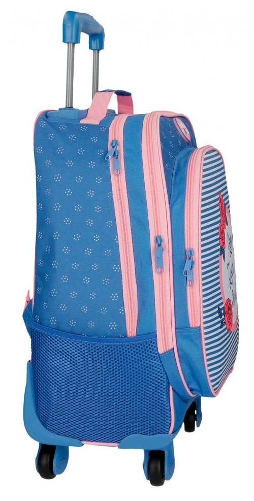 4482861 mochila 4 ruedas roll road rose lateral