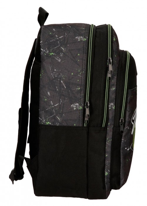 4512461 mochila 42 cm doble comp. roll road california lateral