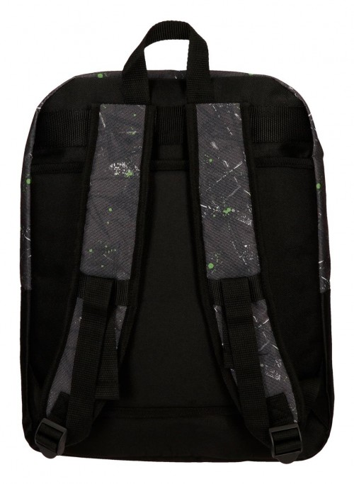 4512461 mochila 42 cm doble comp. roll road california trasera