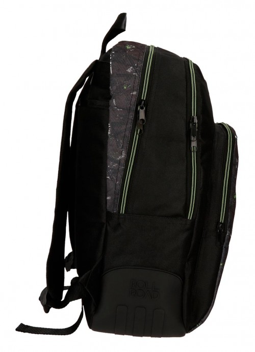 4512661 mochila 44 cm  de doble comp. roll road california lateral