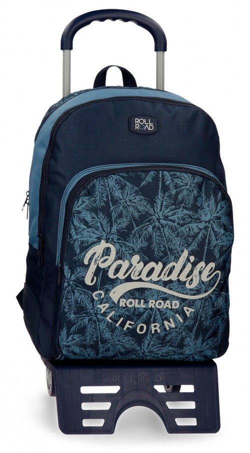 45226N1  mochila 44 cm 2 comp. carro reforzada roll road palm