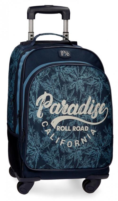 4522861 mochila 4 ruedas roll road palm