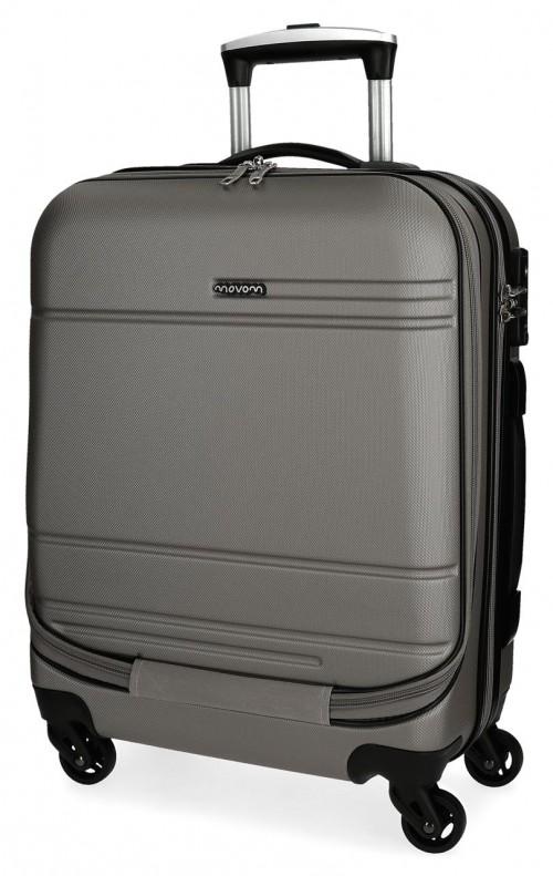 5611261 maleta cabina 4 ruedas movom galaxy  antracita portaordenador