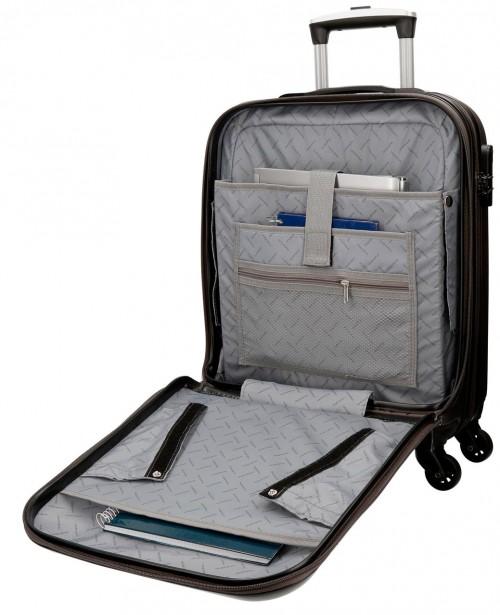 5611261 maleta cabina 4 ruedas movom galaxy  antracita  portaordenador interior 1