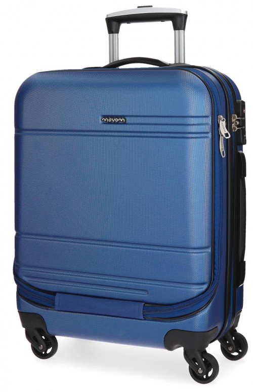 5611262  maleta cabina 4 ruedas movom galaxy azul portaordenador