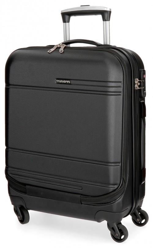 5611264 maleta cabina 4 ruedas movom galaxy negra portaordenador