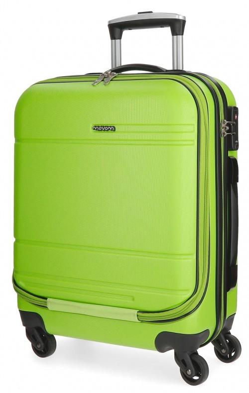 5611266 maleta cabina 4 ruedas movom galaxy  pistacho portaordenador