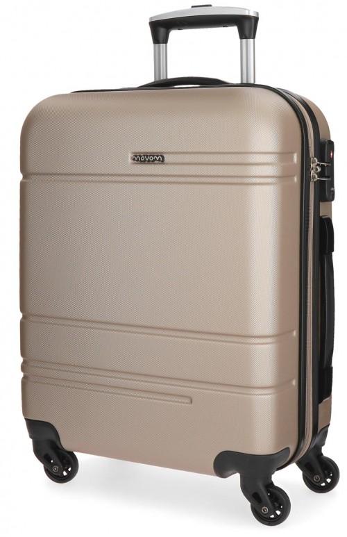 5619163  maleta de cabina movom galaxy champagne