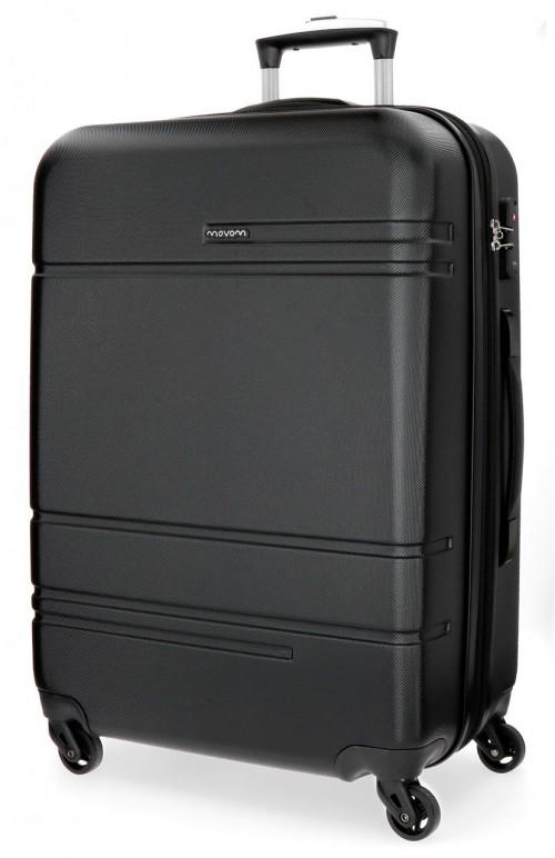 5619264 maleta mediana expandible  movom galaxy negra
