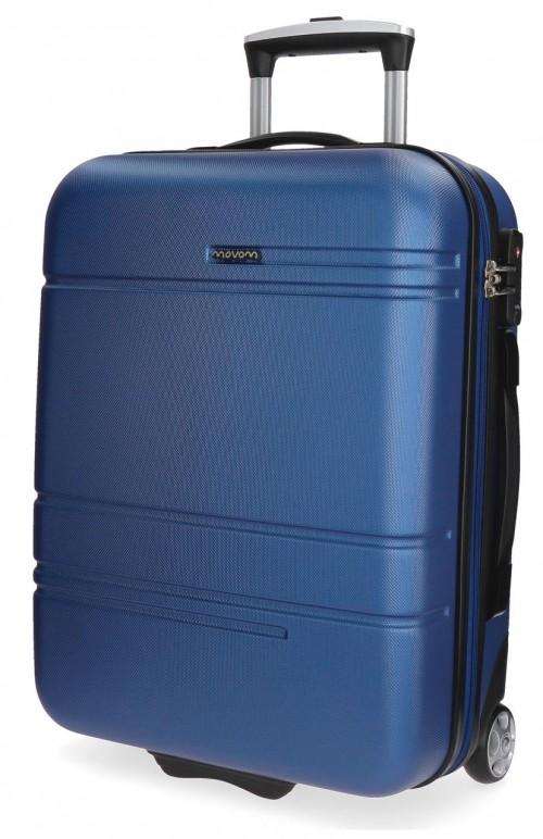 5619962 maleta cabina 2 ruedas movom galaxy azul