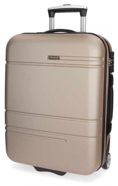 5619963 maleta cabina 2 ruedas movom galaxy  champagne