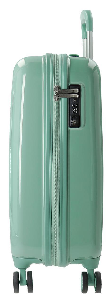 5799162  maleta de cabina movom trafalgar verde lateral