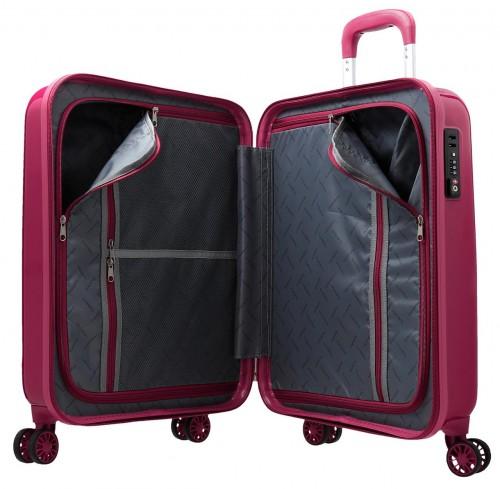 5799163 maleta de cabina movom trafalgar roja interior