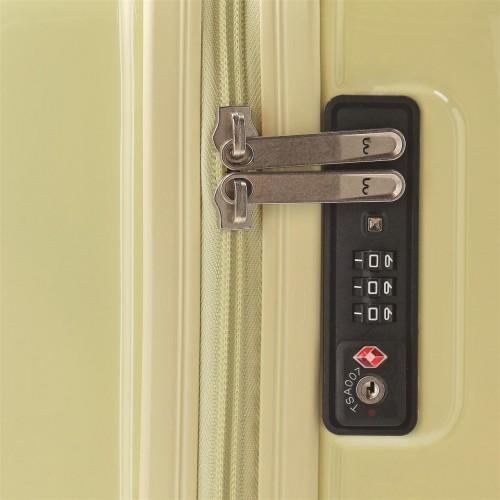 5799164 maleta de cabina movom trafalgar amarilla cerradura tsa