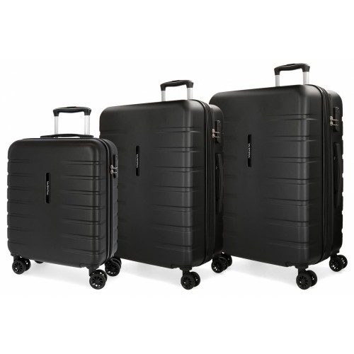 5829461 juego maletas cabina + mediana + grande movom turbo
