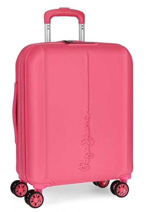 5948661 maleta de cabina pepe jeans glasgow rosa