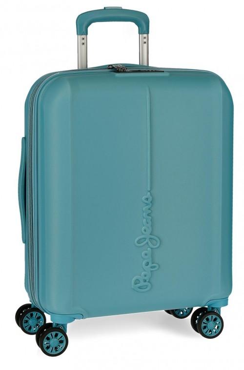 5948662  maleta de cabina pepe jeans glasgow azul