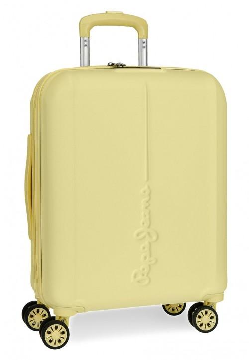 5948664 maleta de cabina pepe jeans glasgow  amarillo