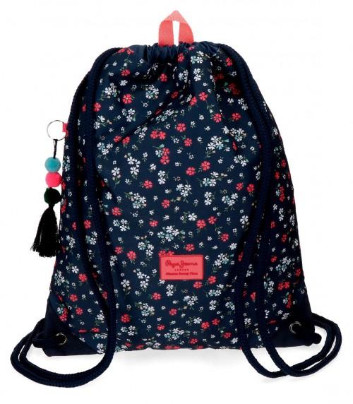 6263761 gym sac con bolsillo trasero pepe jeans jareth