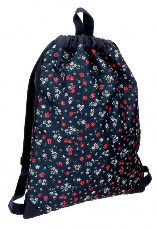 6263861 gym sac pepe jeans jareth con bolso frontal trasera
