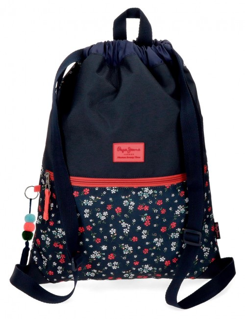 6263861 gym sac pepe jeans jareth con bolso frontal