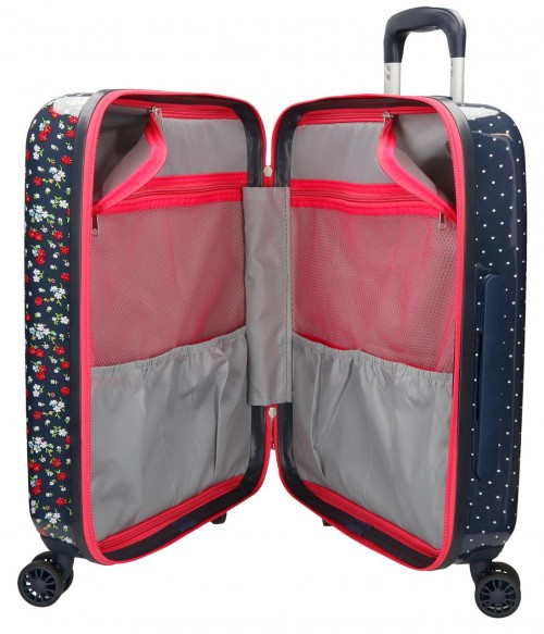 6268761 maleta de cabina  pepe jeans jareth interior