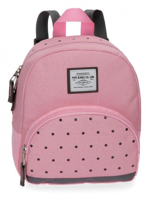 6282063 mochila de paseo 25 cm pepe jeans molly  rosa