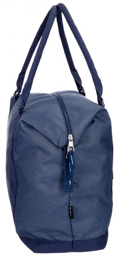 6283262 bolsa de viaje 42 cm pepe jeans molly azul lateral