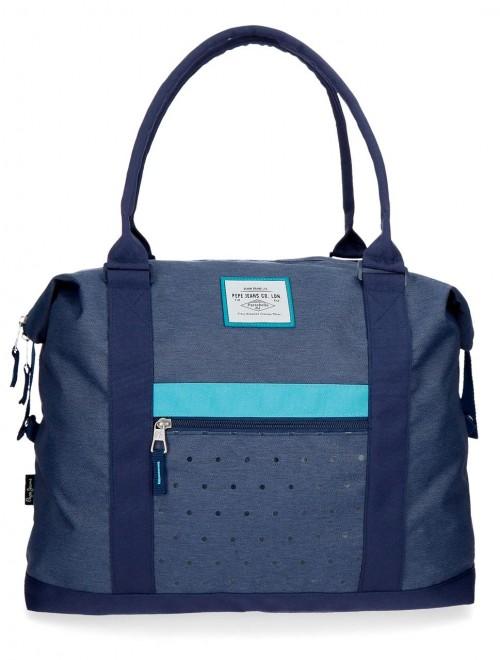 6283262 bolsa de viaje 42 cm pepe jeans molly azul