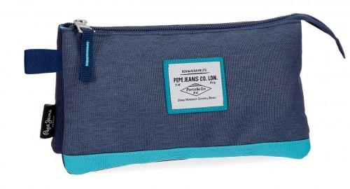 6284362 portatodo triple pepe jeans molly azul