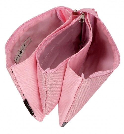 6284363 portatodo triple pepe jeans molly  rosa interior
