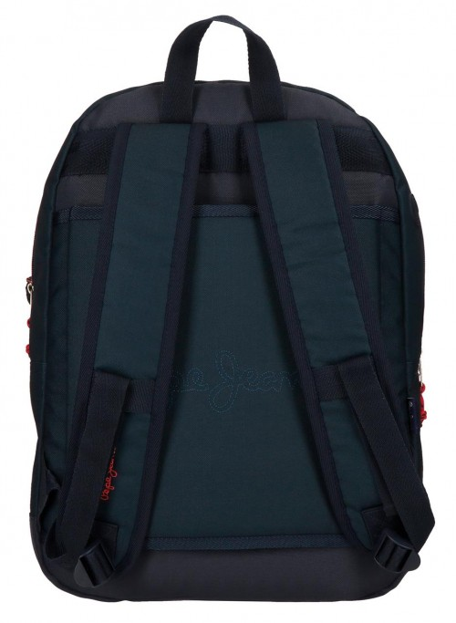 6312361 mochila 44 cm adaptable pepe jeans Ian adaptable a carro
