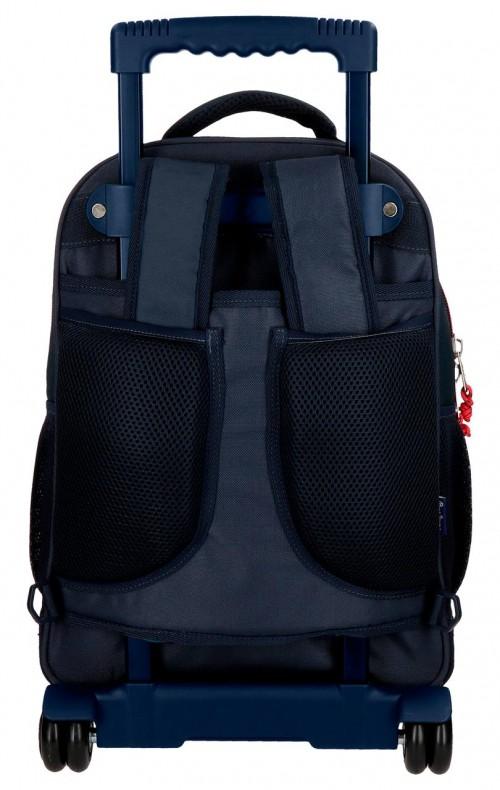 6312961 mochila compacta reforzada pepe jeans ian trasera tirantes recogidos