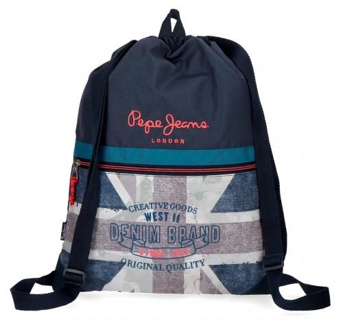 6313861 gym sac con bolsillo pepe jeans ian