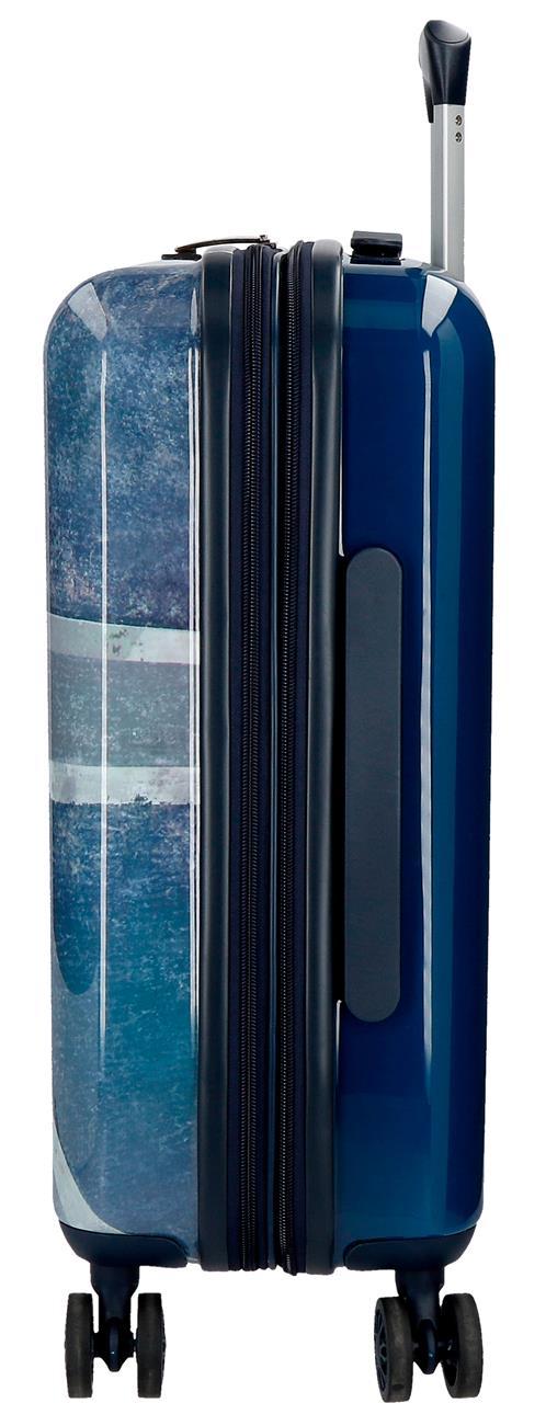 6318661 maleta cabina pepe jeans Ian lateral expandible
