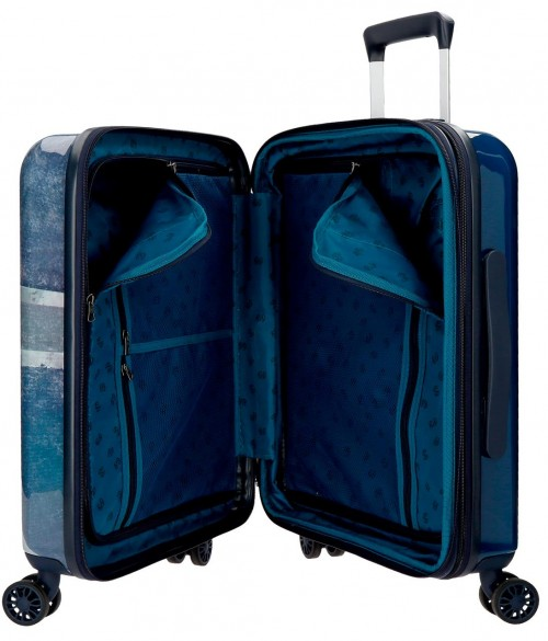 6318661 maleta cabina pepe jeans Ian interior