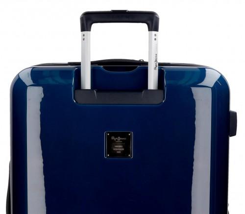 6318661 maleta cabina pepe jeans Ian  trasera