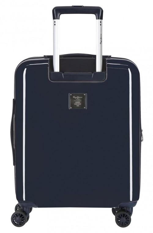 6318662 maleta cabina 4 ruedas pepe jeans ian trasera