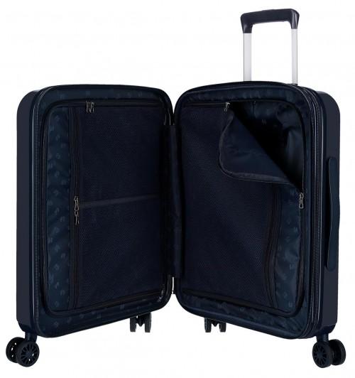 6318662 maleta cabina 4 ruedas pepe jeans ian interior