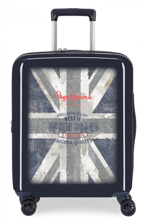 6318662 maleta cabina 4 ruedas pepe jeans ian