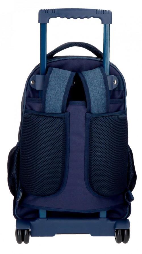 6322961 mochila compacta reforzada pepe jeans paul trasera tirantes recogidos