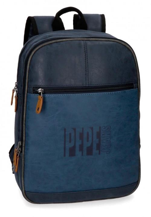 6352262 mochila mediana 36 cm pepe jeans max azul