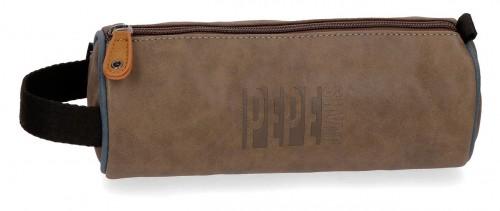 6354161 portatodo redondo marrón pepe jeans max marrón