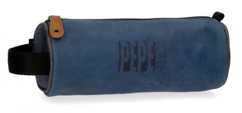 6354162  portatodo redondo marrón pepe jeans max  azul