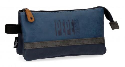 6354362 portatodo triple pepe jeans max azul