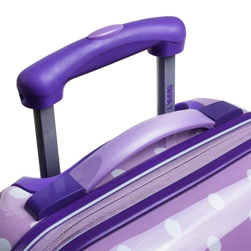 664504 maleta cabina skpa t topos malva detalle superior